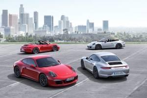 Porsche: Νέα 911 GTS 2015