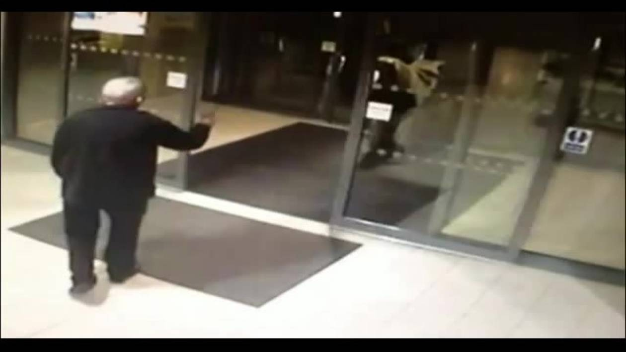 Δεν θα πιστέψετε τι μπήκε μέσα σε αστυνομικό τμήμα (βίντεο)