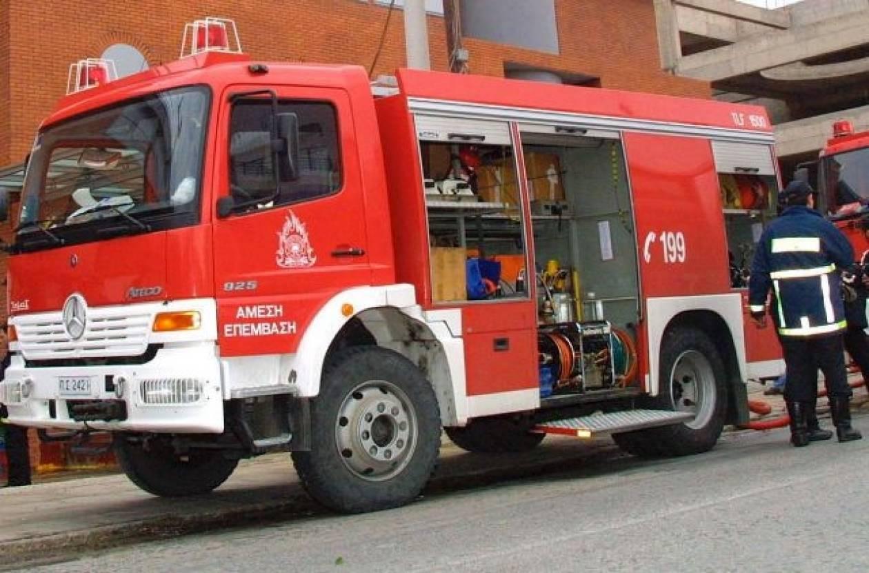 Μύκονος: Πυρκαγιά σε κατάστημα υποδημάτων