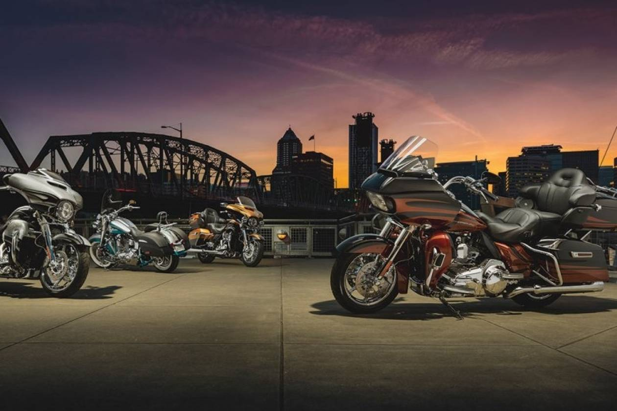Harley Davidson: Τα μοντέλα του 2015