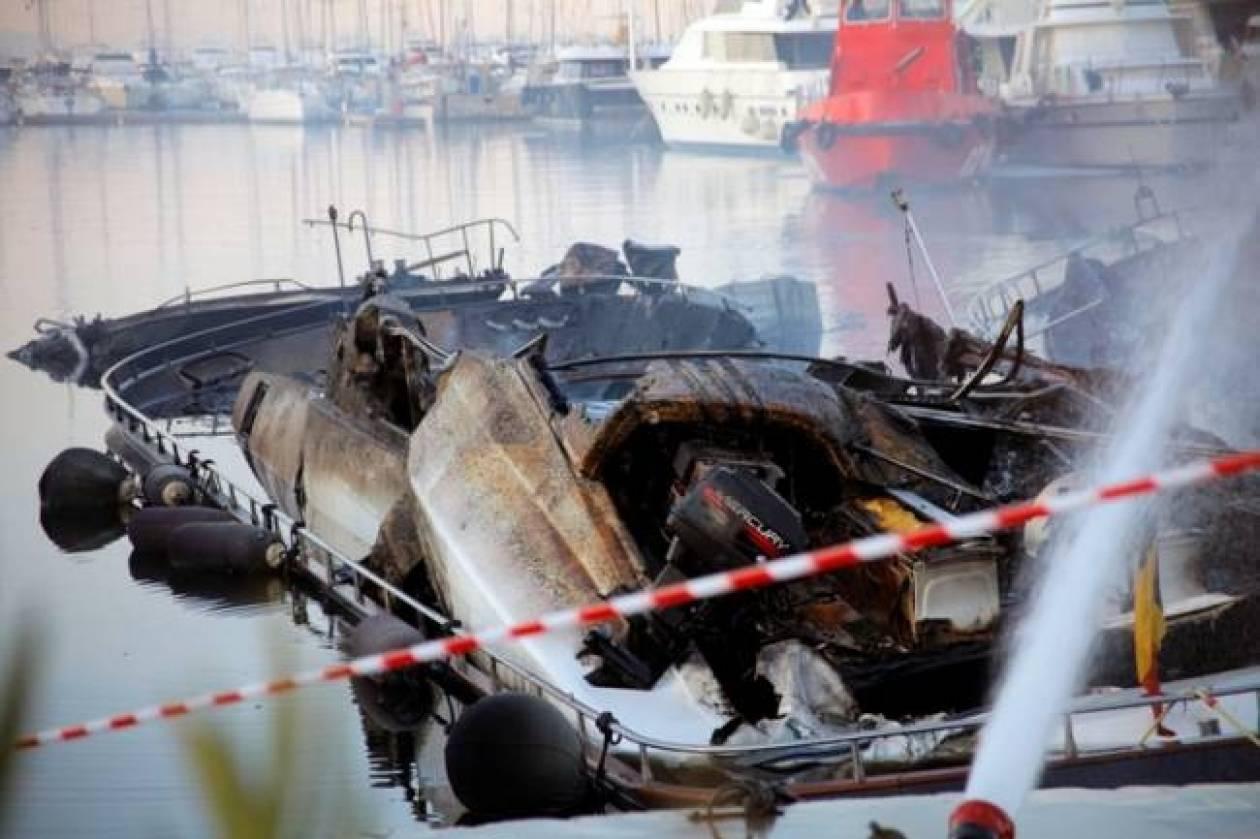 Δωδεκάνησα: Στις φλόγες σκάφος στο Ψαλίδι της Κω