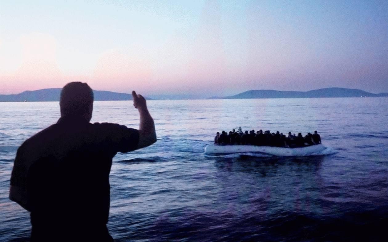 Λέσβος: Εντοπισμός και διάσωση 34 παράνομων μεταναστών