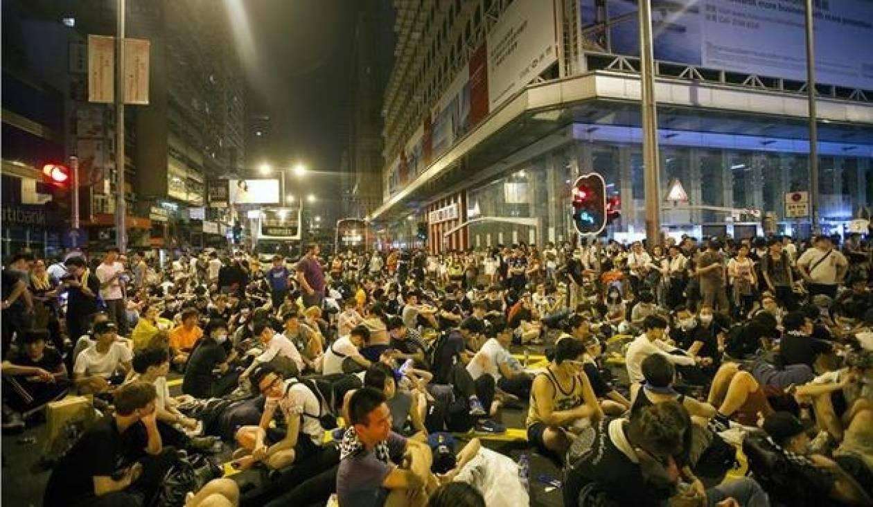 Νέες συγκρούσεις στο Χονγκ Κονγκ