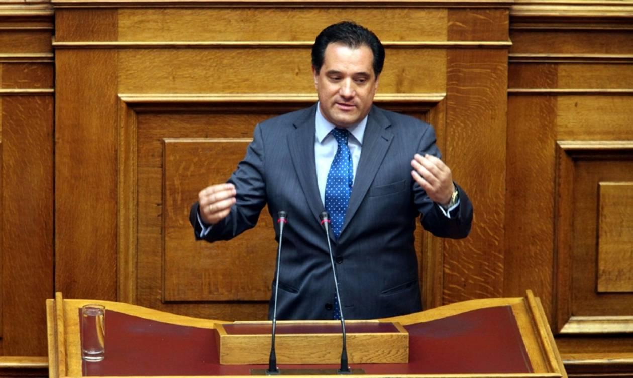 Γεωργιάδης: Ο ΣΥΡΙΖΑ εμποδίζει την έξοδο από το μνημόνιο