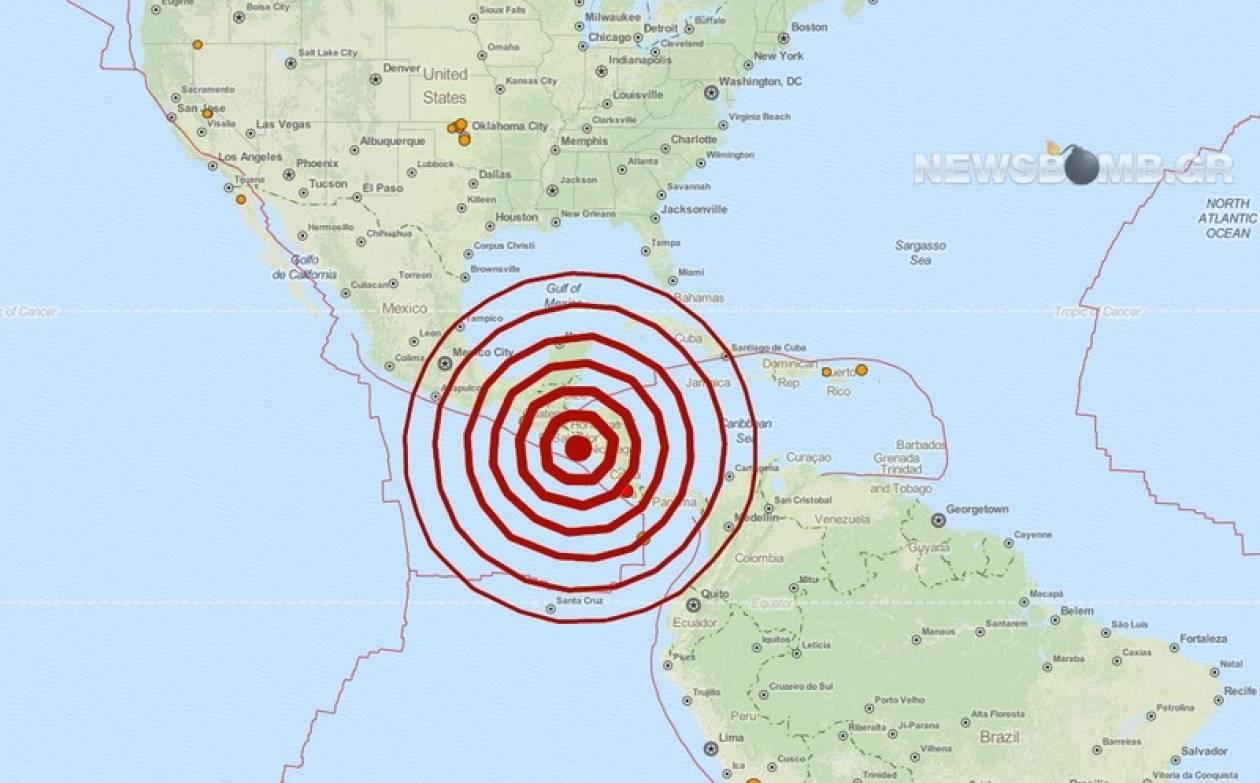 Μεγάλος σεισμός 7,4 Ρίχτερ στην Κεντρική Αμερική