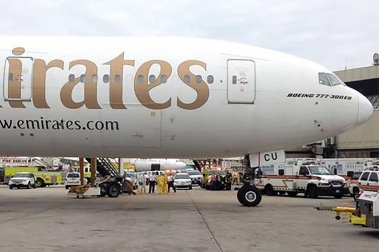 Έμπολα: Λήξη συναγερμού για το καθηλωμένο αεροπλάνο στη Βοστώνη