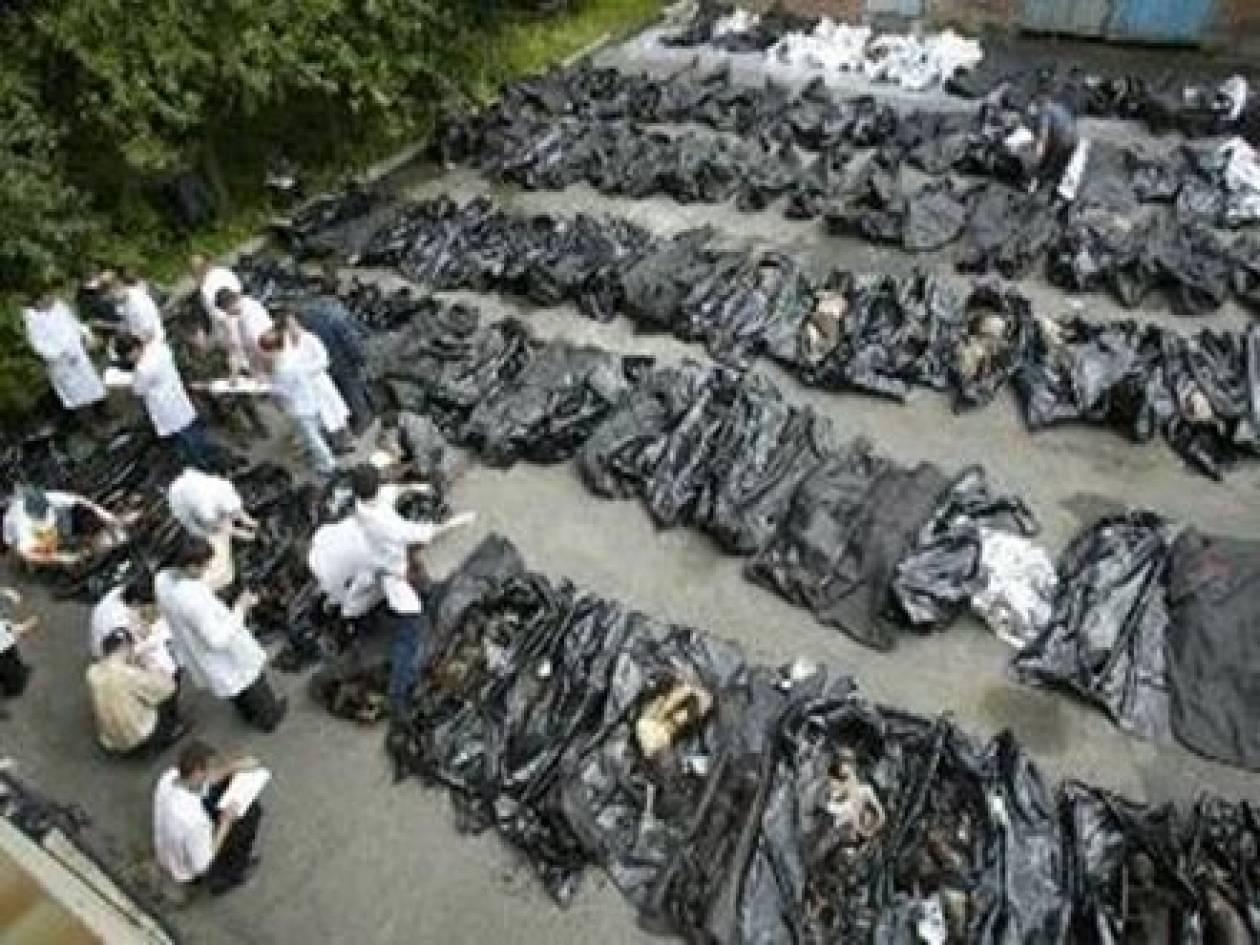 Δικαιοσύνη ζητούν 10 χρόνια μετά οι συγγενείς για την τραγωδία στο Μπεσλάν