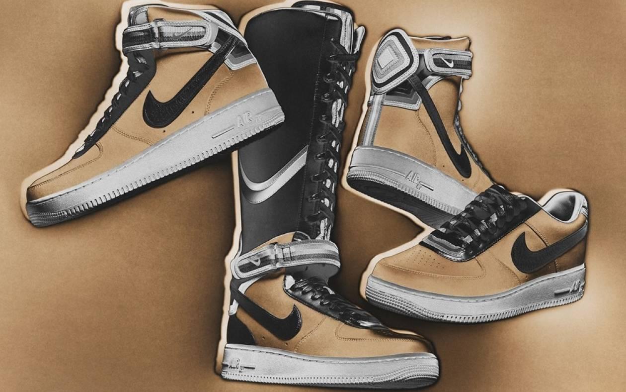 Nike Air Force One με τις «πινελιές» του Ricardo Tisci