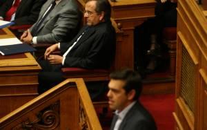 Σαμαράς: Έχει πάθει τίποτα ο Τσίπρας;