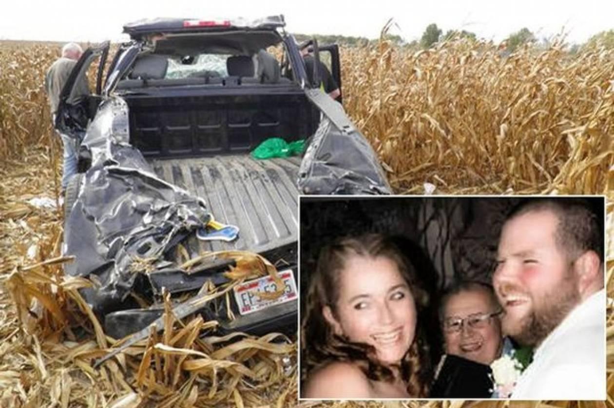 Τραγωδία: Σκοτώθηκε λίγες ώρες αφού παντρεύτηκε (pics)
