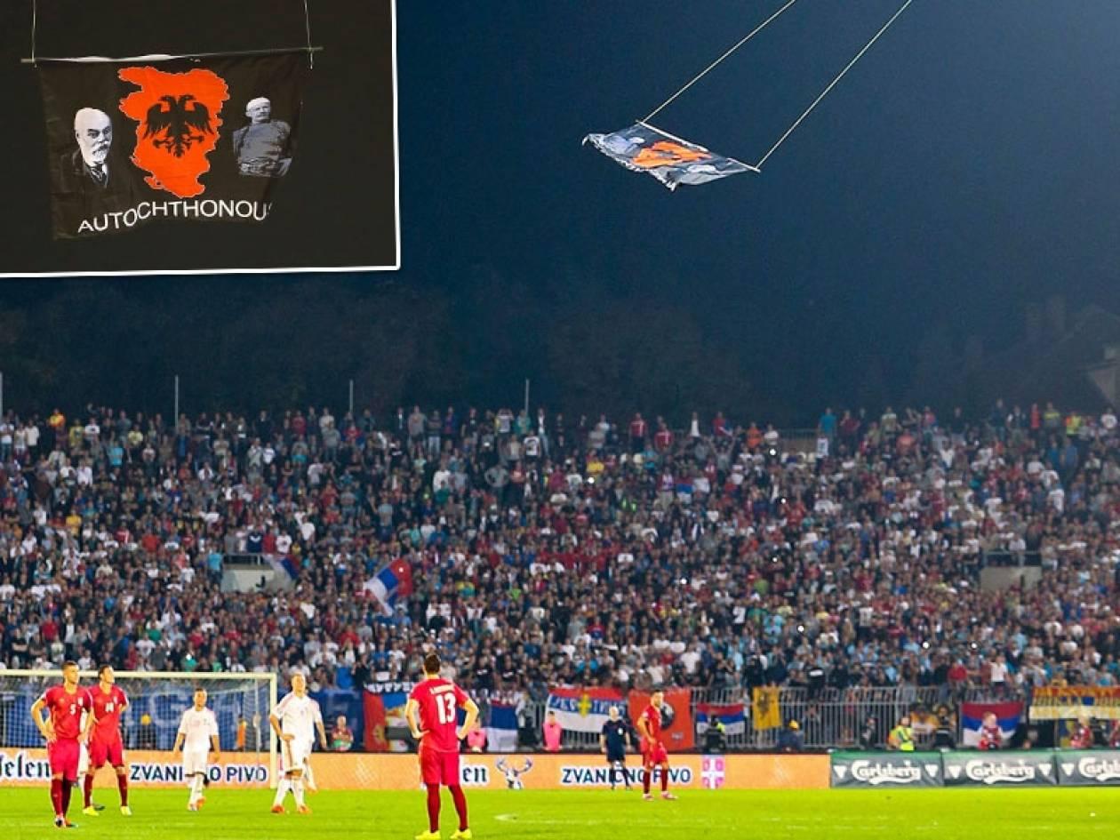 Πρόκληση: Σήκωσαν σημαία της «Μεγάλης Αλβανίας» με ελληνικά εδάφη
