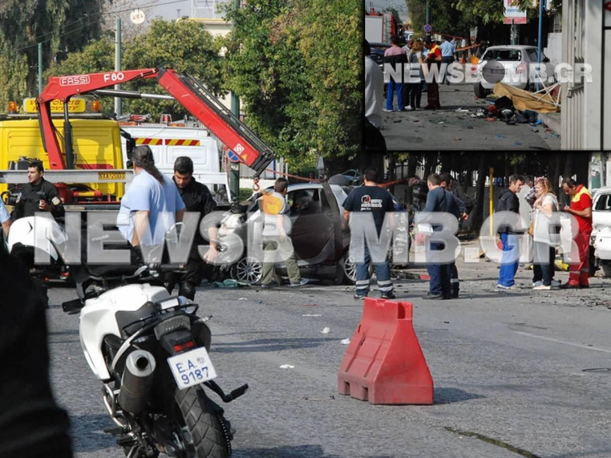 Ένας αστυνομικός και μία γυναίκα οι νεκροί στο δυστύχημα στην Π. Ράλλη (pics&vid)