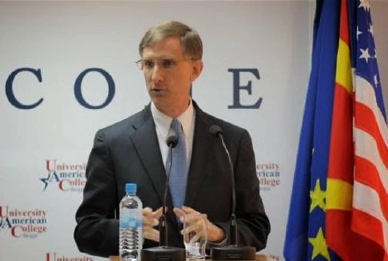 Αμερικανός Πρέσβης: «Λυπηρό φαινόμενο στα Σκόπια- καμία καταδίκη για διαφθορά»...