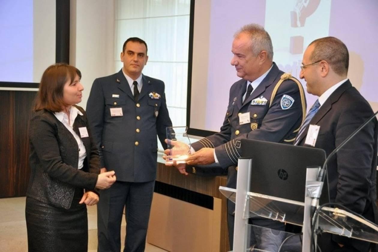Βράβευση της Πολεμικής Αεροπορίας για την Οδική Ασφάλεια