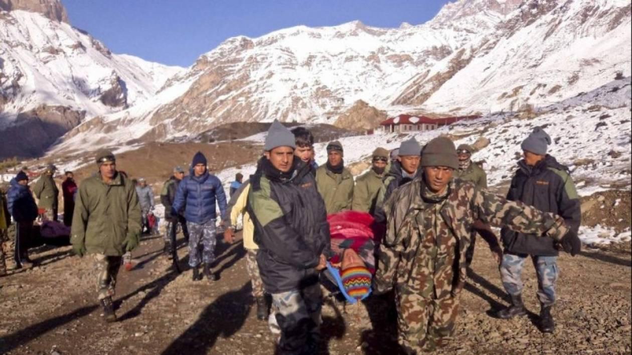 Νεπάλ: Τουλάχιστον 85 άτομα αγνοούνται μετά από τη σφοδρή χιονοθύελλα