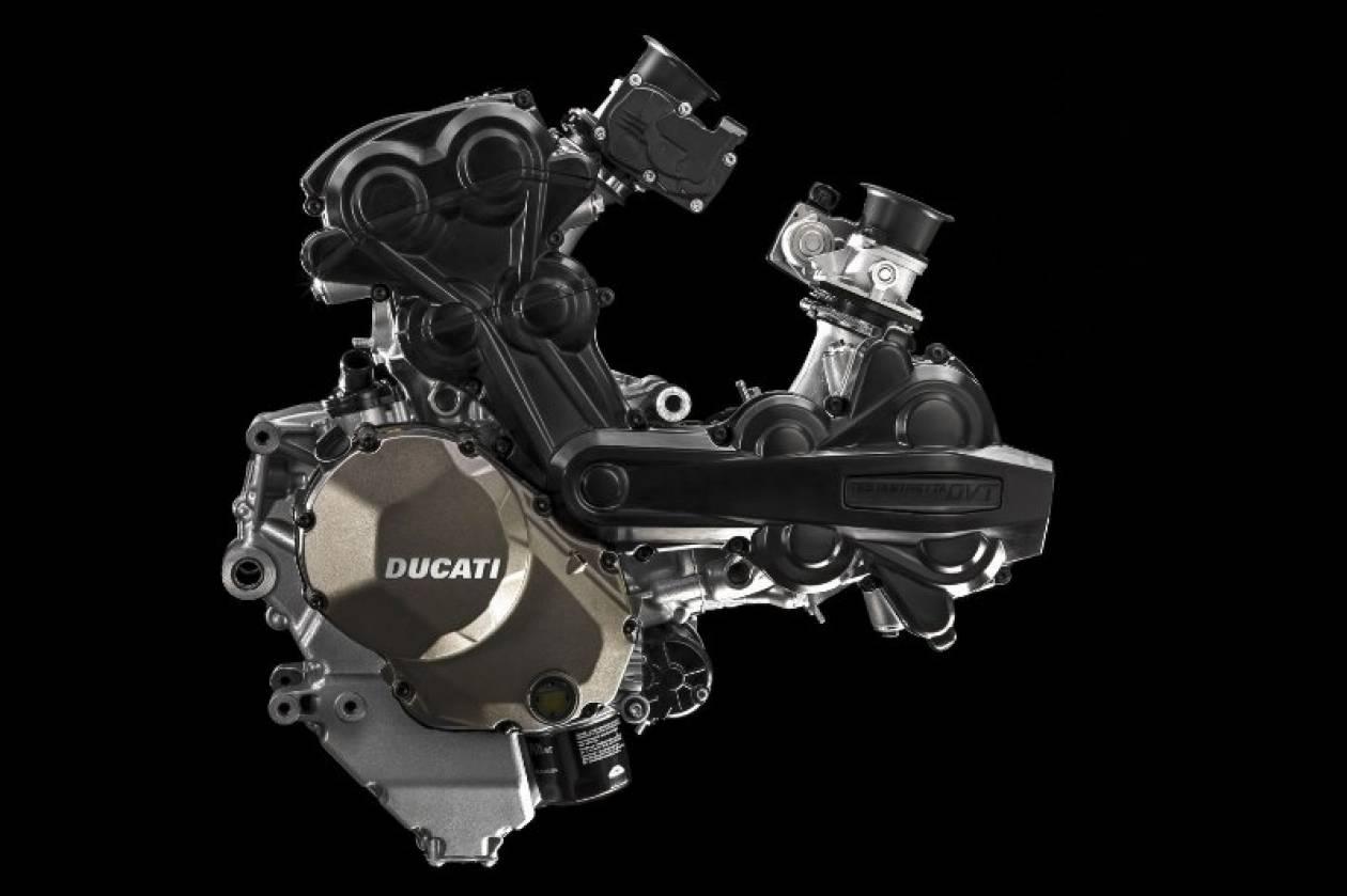 Ducati: Νέος κινητήρας Testastretta DVT