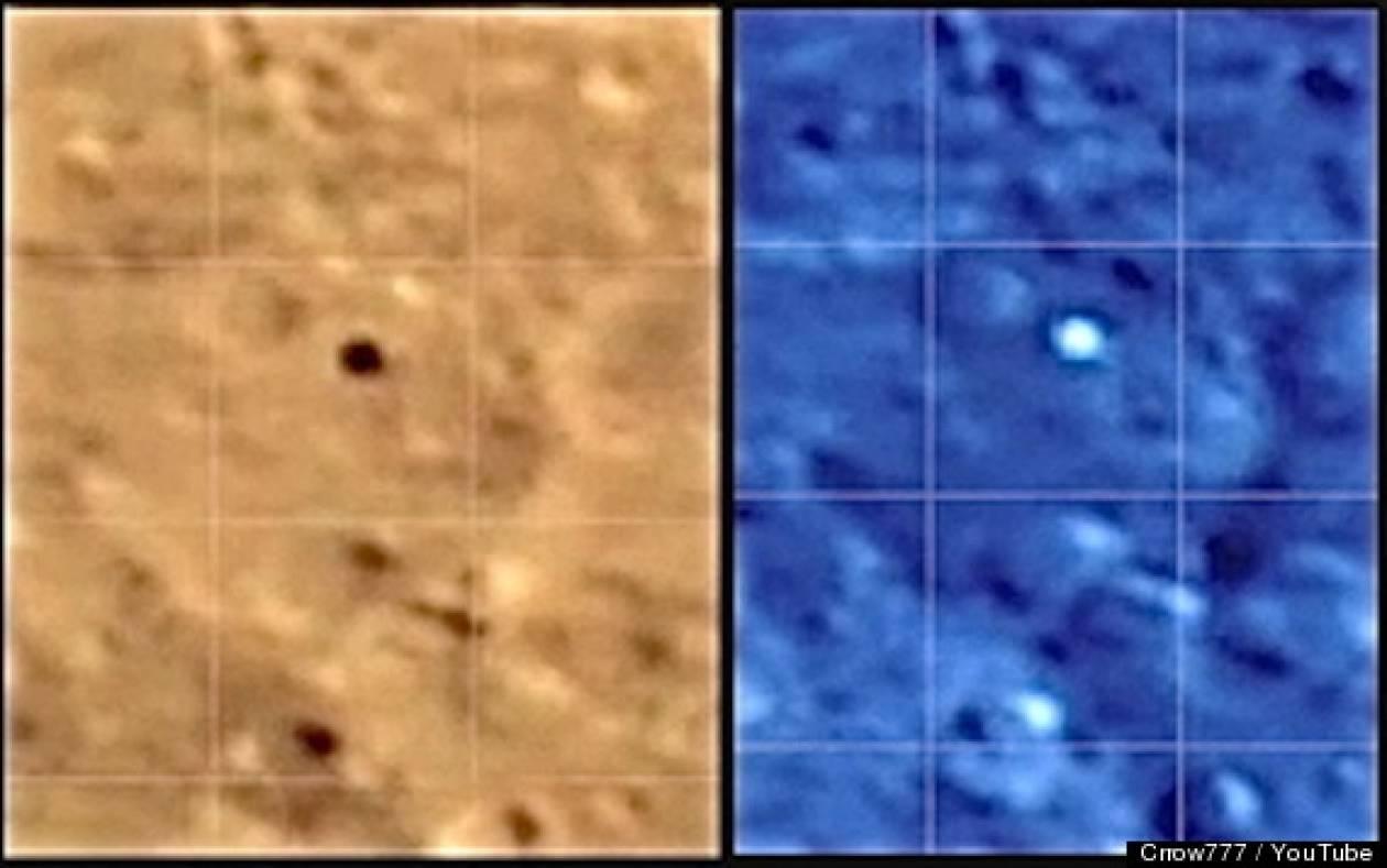 Βίντεο: Κατέγραψε UFO πάνω από τη Σελήνη