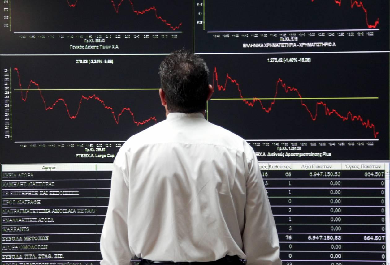 Μεγάλη άνοδος στο Χρηματιστήριο Αθηνών