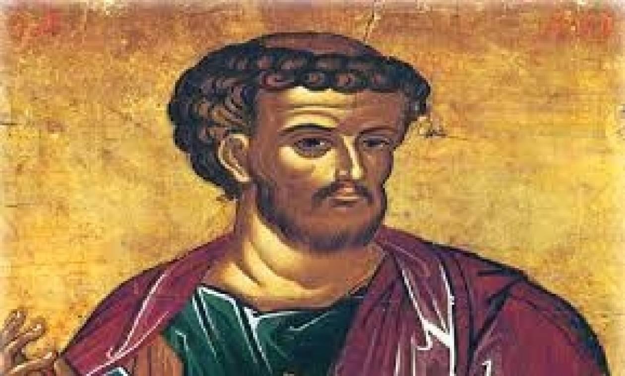 Ο Άγιος Λουκάς ο Ευαγγελιστής εορτάζει στις 18 Οκτωβρίου