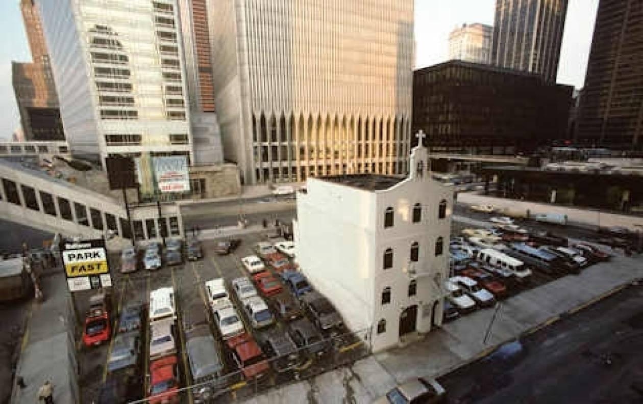 Τοποθετήθηκε ο θεμέλιος λίθος του ναού του Αγ. Νικολάου στο Παγκόσμιο Κέντρο Εμπορίου