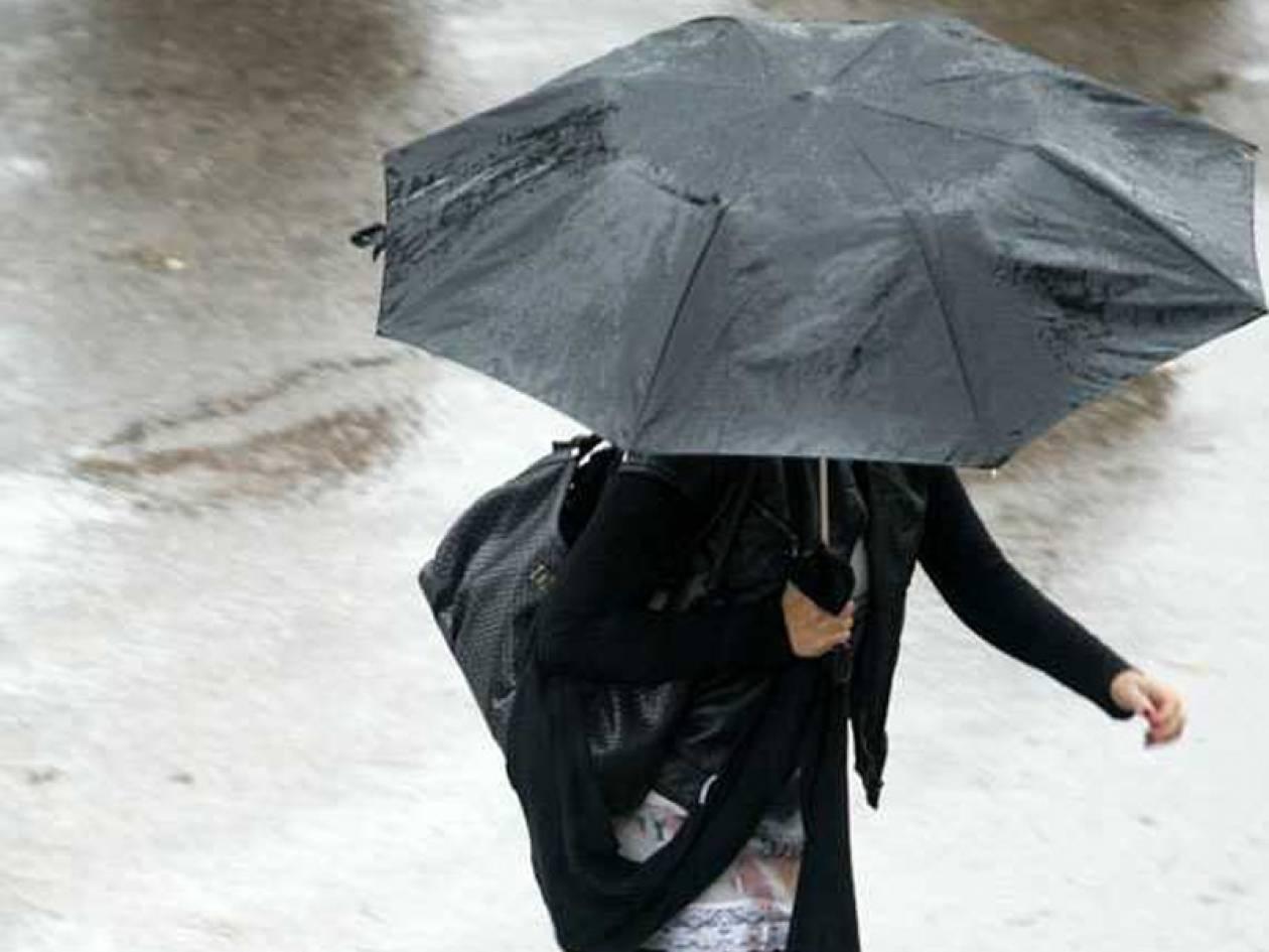 Καιρός: Βροχές και… κρύο την Κυριακή
