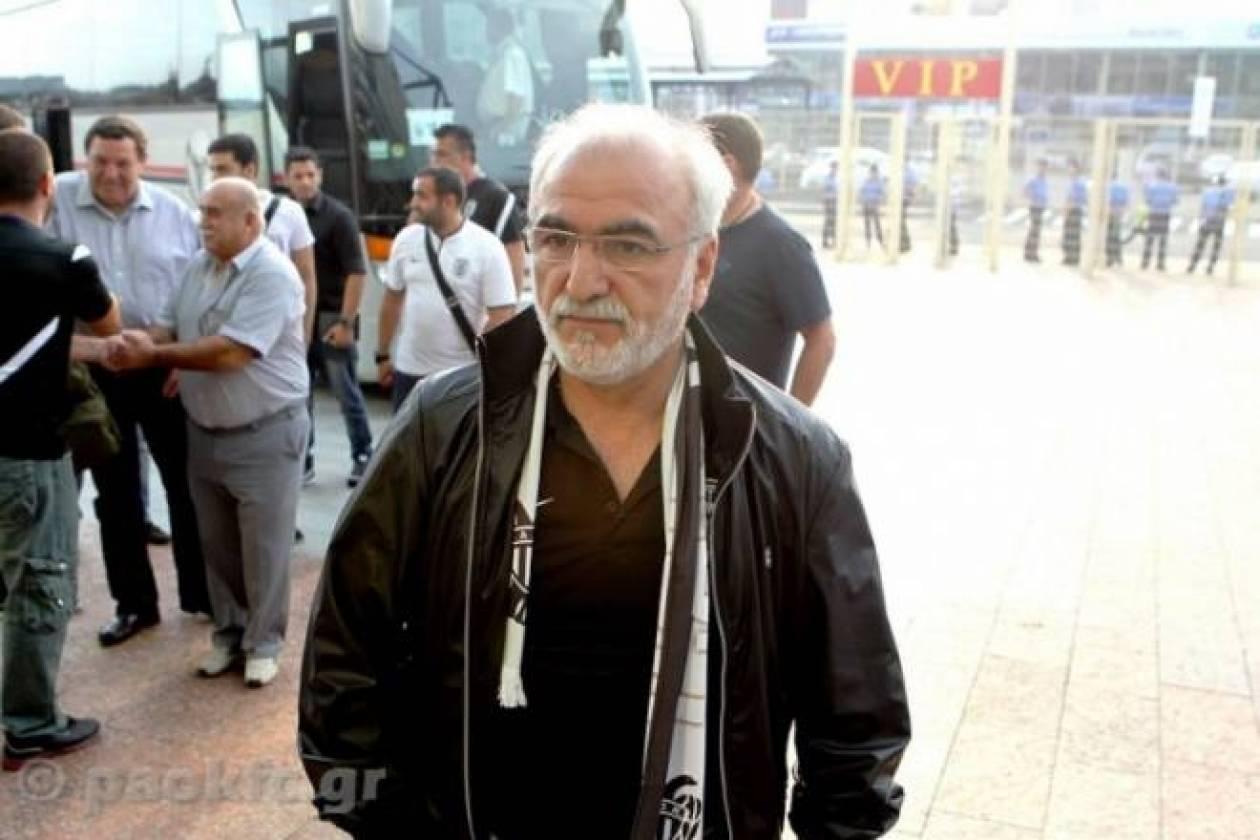 ΠΑΟΚ: Στη Θεσσαλονίκη ο Σαββίδης