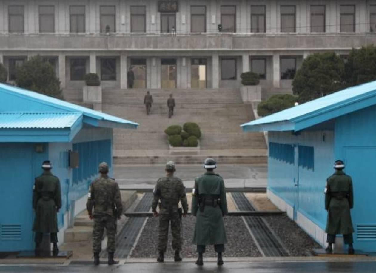 Ανταλλαγή πυρών ανάμεσα σε στρατιώτες της Νότιας και της Βόρειας Κορέας