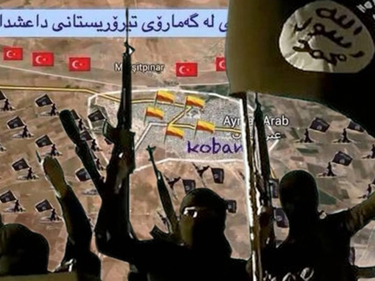 Η πόλη Κομπάνι «ζορίζει» τους τζιχαντιστές