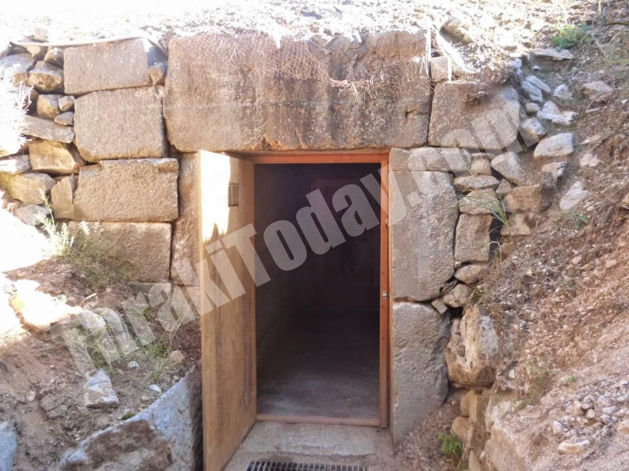 «Ξύπνησε» ο μακεδονικός τάφος της Ξάνθης (pics&vid)