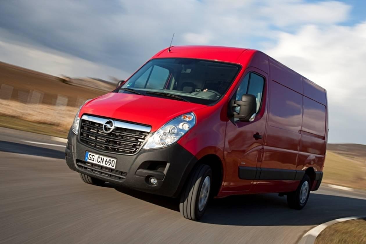 Opel : Νέα γενιά Turbo Diesel: Movano από 29.300€