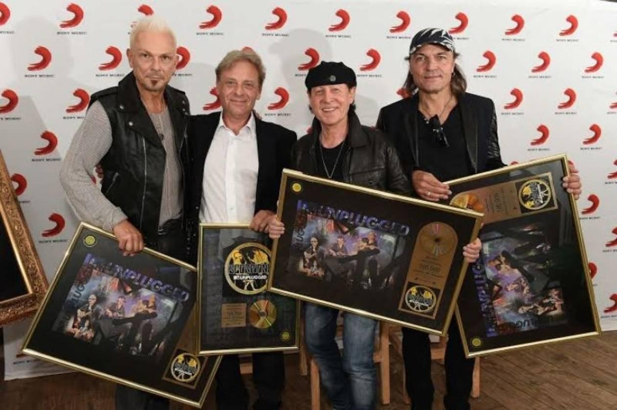 Η Ελλάδα έκανε «χρυσούς» τους Scorpions