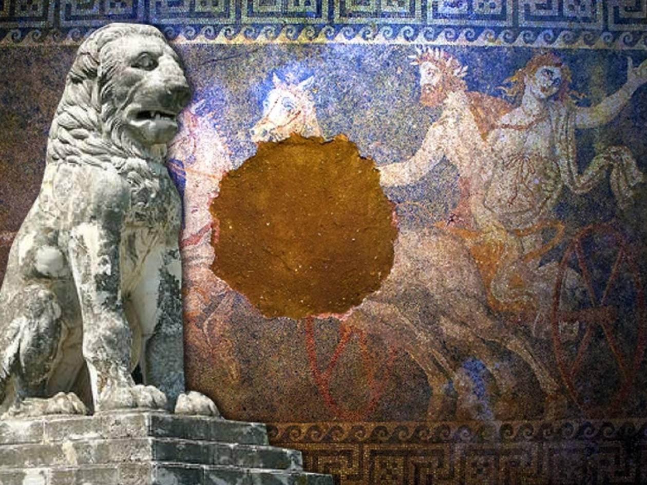 Αμφίπολη: Τα σενάρια για τον «ένοικο» του τάφου και το μυστικό του λιονταριού