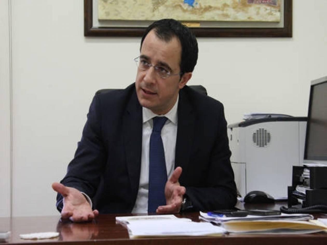 """Χριστοδουλίδης: «Λέμε """"ΟΧΙ"""" στην ένταξη της Τουρκίας στην ΕΕ»"""
