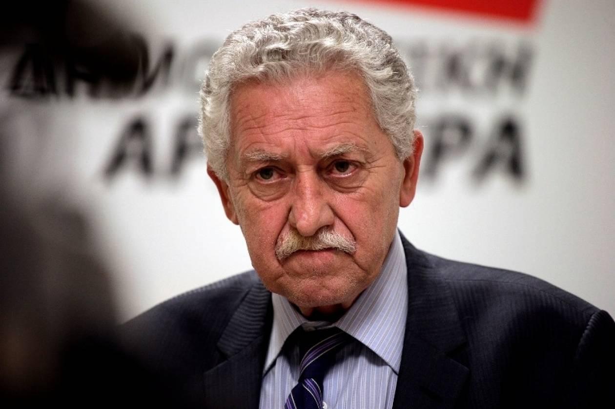 Κουβέλης: Δεν θα είμαι στα ψηφοδέλτια του ΣΥΡΙΖΑ