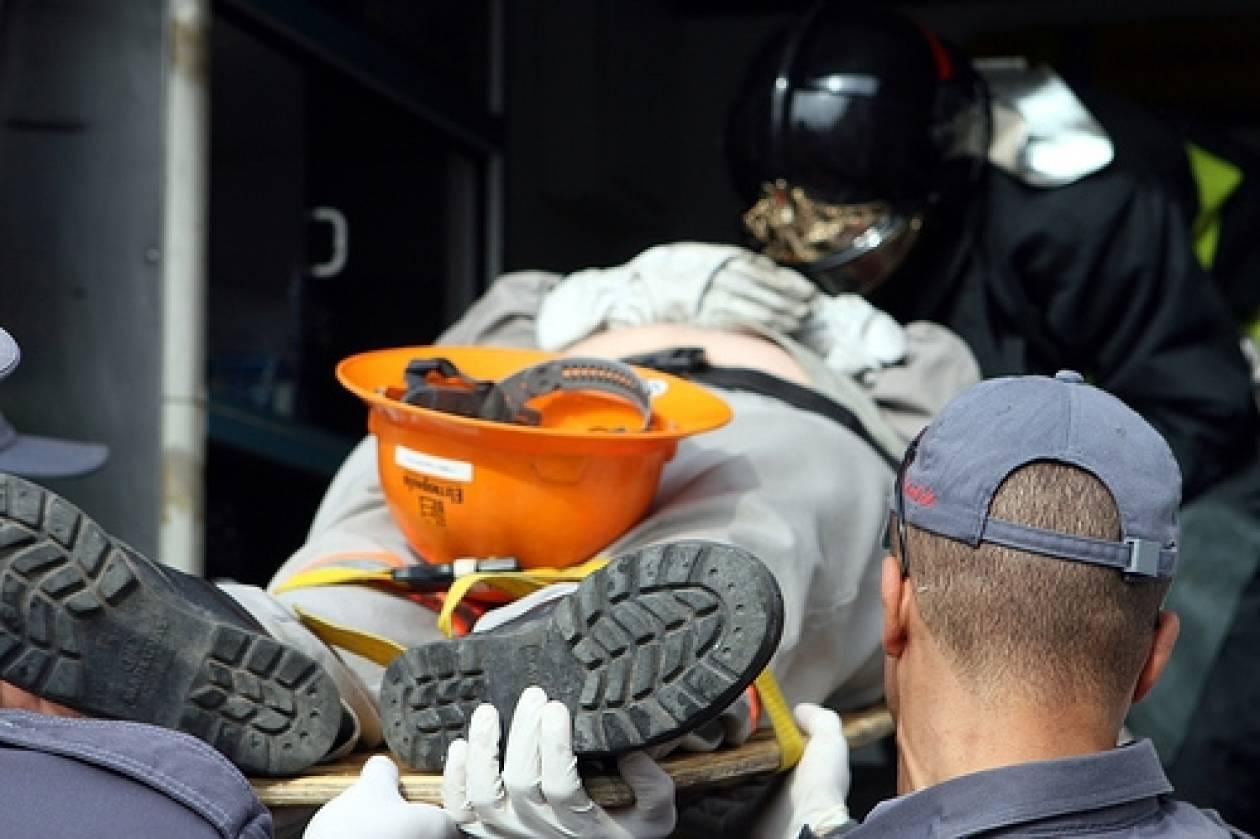 Λέσβος: Θανατηφόρο εργατικό ατύχημα στην περιοχή Λάμπου Μύλοι