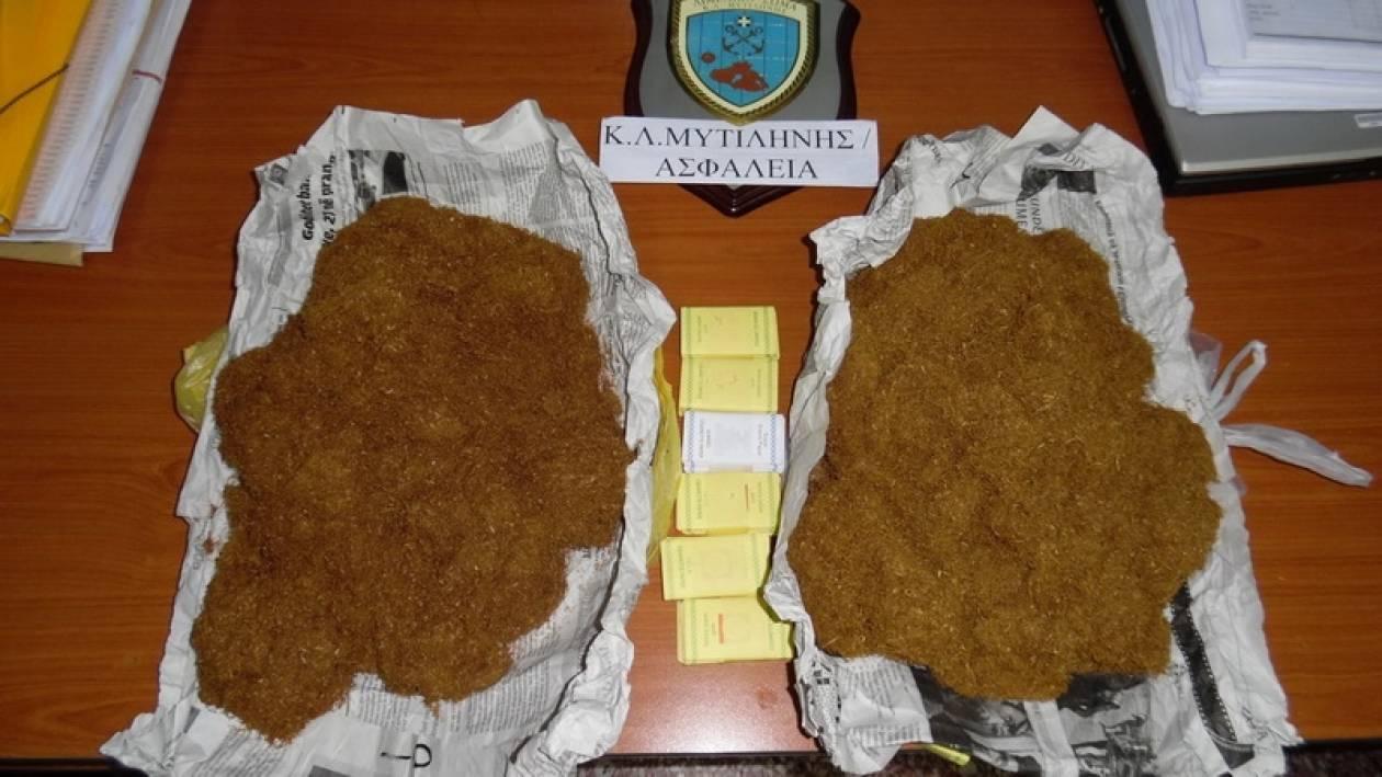 Μυτιλήνη: Σύλληψη αλλοδαπού για παράνομη κατοχή καπνού