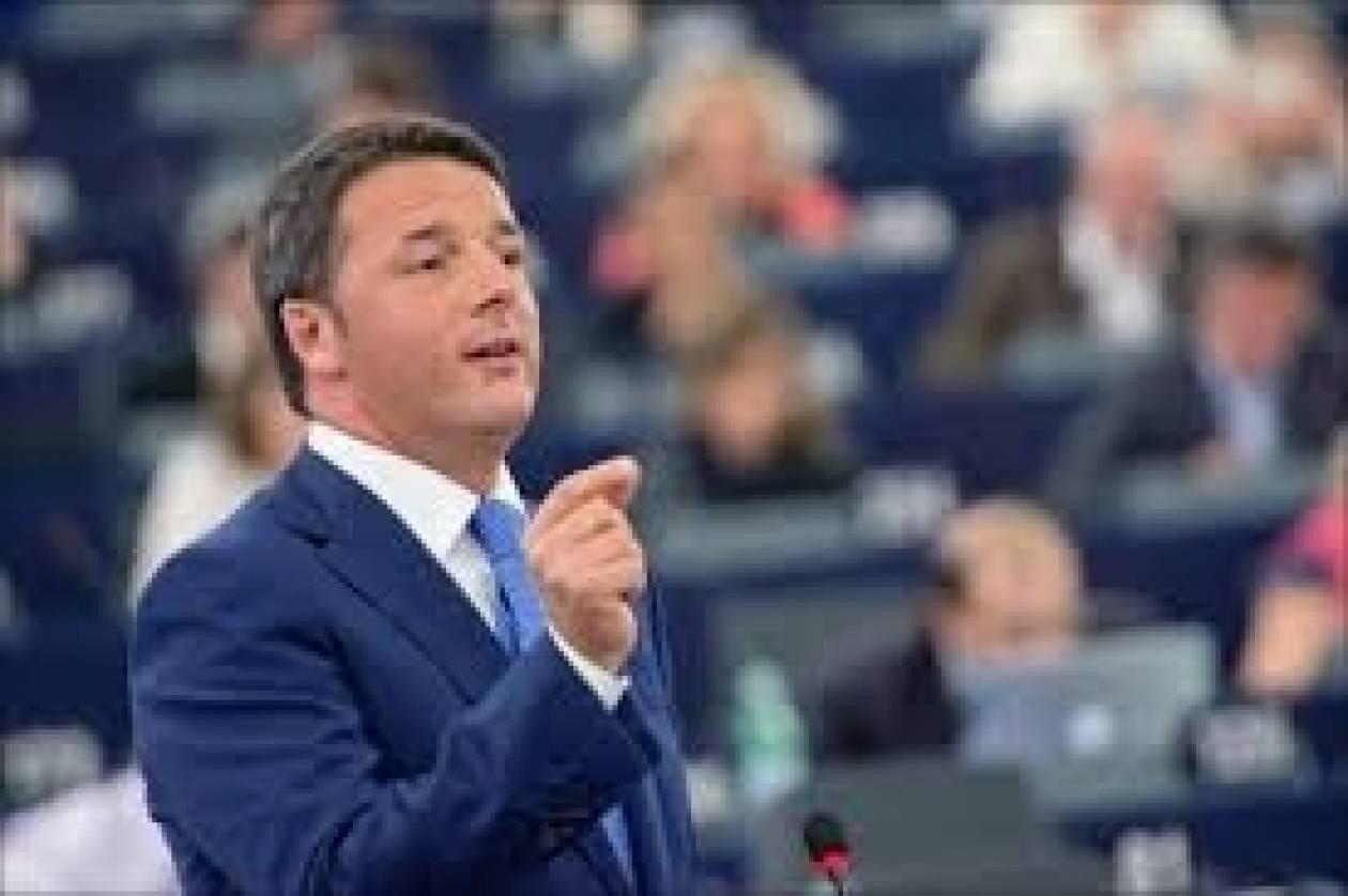 Ρέντσι: «Η Ιταλία είναι πρωταγωνίστρια στην Ευρώπη, χωρίς εξωτερικές επιβολές»