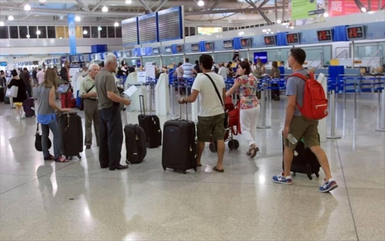 Αύξηση 10,3% στις ταξιδιωτικές εισπράξεις τον Αύγουστο