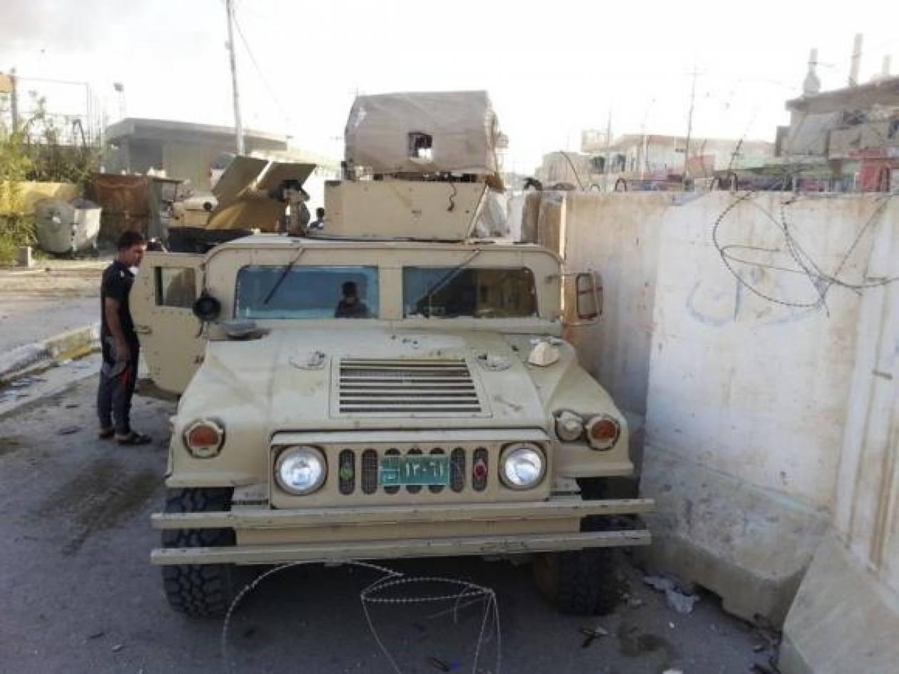 Ο ιρακινός στρατός συγκρούστηκε με μαχητές του Ισλαμικού Κράτους