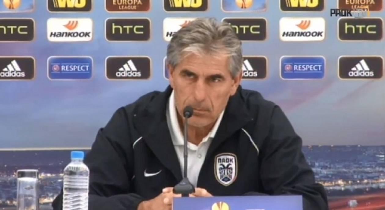 Αναστασιάδης: «Μεγάλη η ευθύνη μας απέναντι στους οπαδούς»