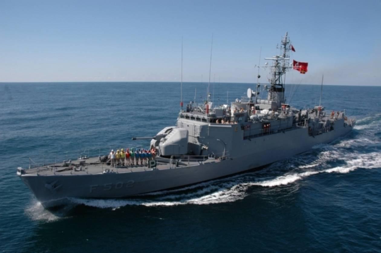 Τουρκικά πολεμικά πλοία στην Κυπριακή ΑΟΖ