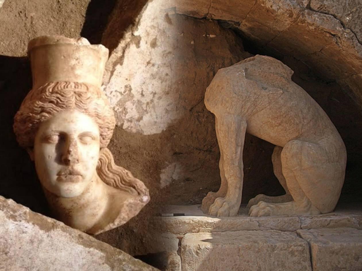 Πώς το κεφάλι της Σφίγγας βρέθηκε 12 μέτρα μακριά από το σώμα (pics)
