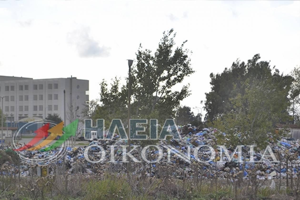 Χωματερή δίπλα από το Νοσοκομείο Πύργου-Κίνδυνος επιδημιών (pics)