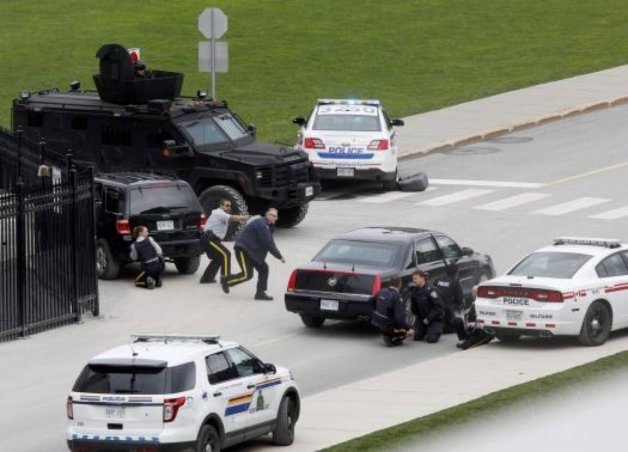 Καναδάς: Η είδηση της επίθεσης στην Οτάβα μονοπωλεί τα καναδικά μέσα