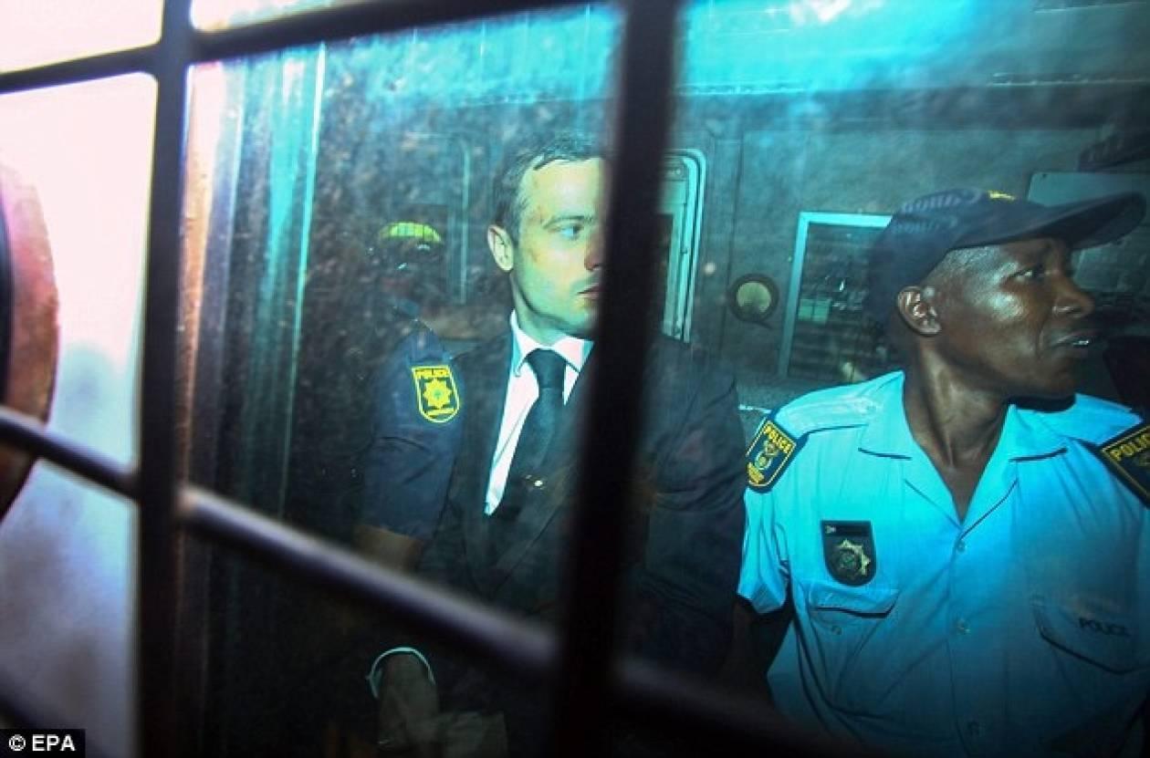 Πιστόριους: Οι πρώτες νύχτες στη φυλακή (vid)