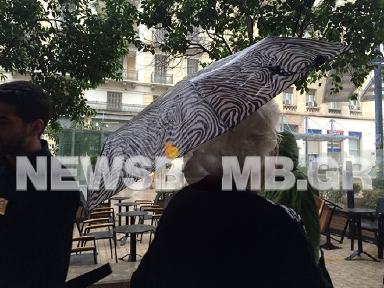 Καιρός: Ξεκίνησε η κακοκαιρία-Ισχυρή βροχή στην Αθήνα (pics)