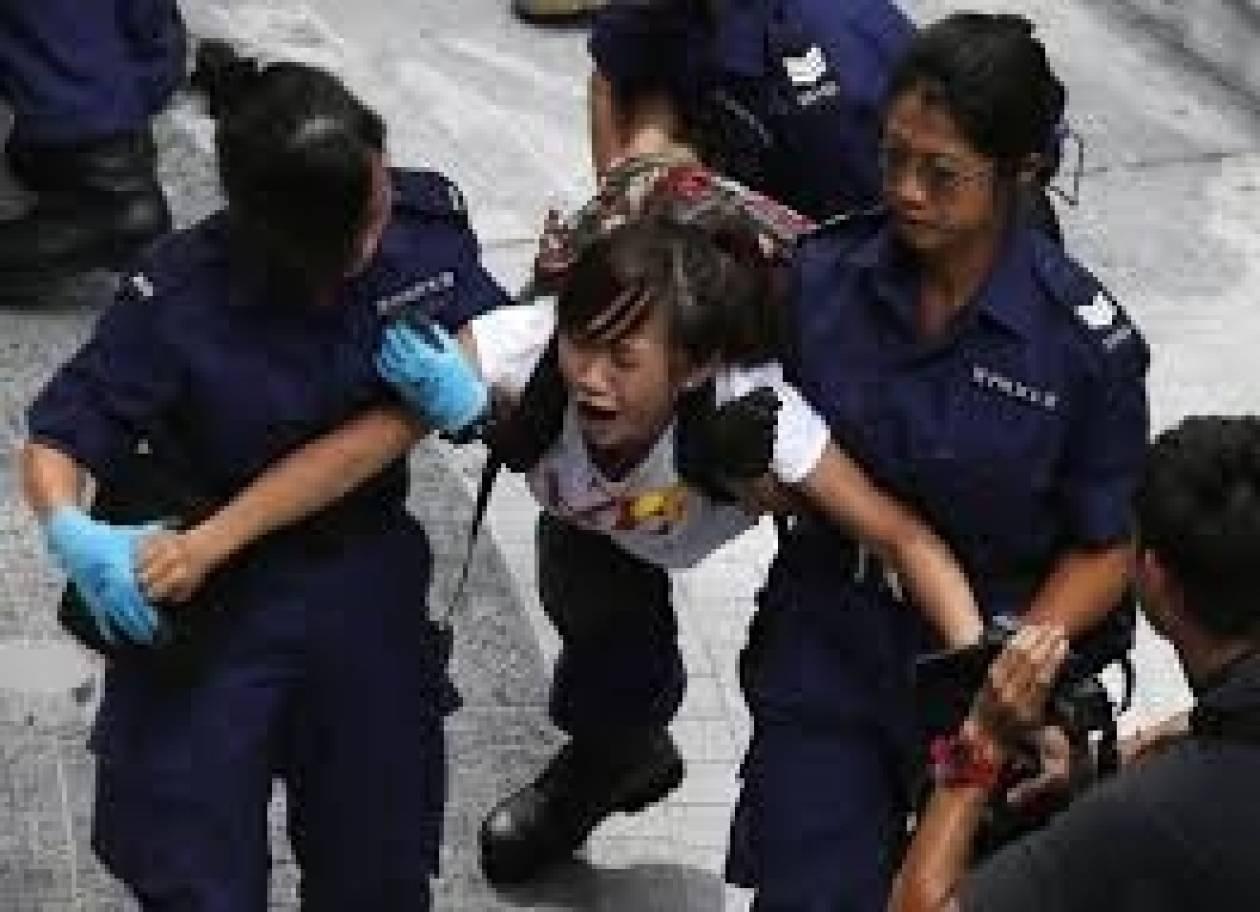 Κίνα: Οκτώ συλλήψεις διαδηλωτών στον Χονγκ Κονγκ