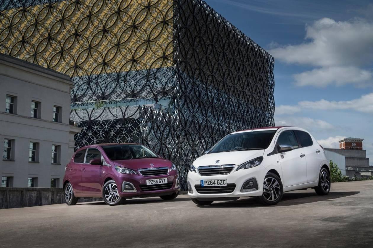 Peugeot: Ήρθε το 108 με τιμή από 10.240€
