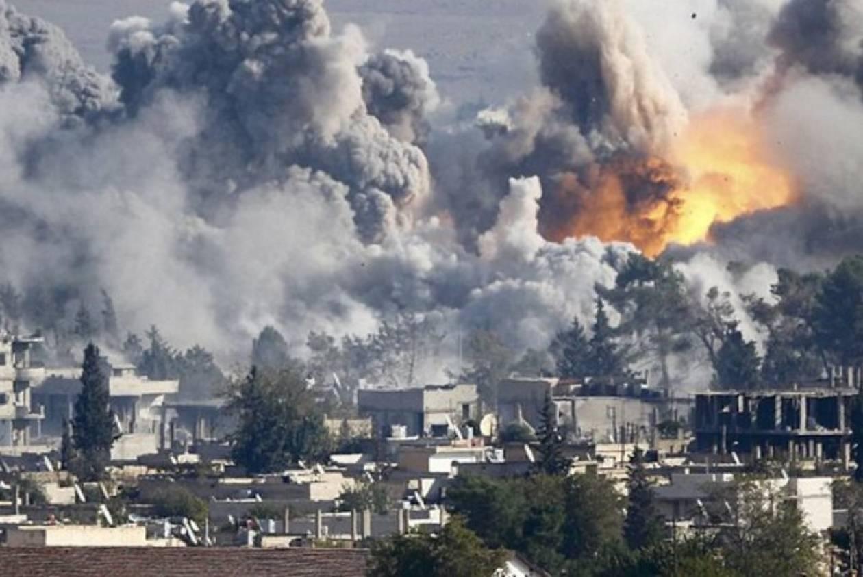 Καταγγελίες για χρήση χημικών από τους τζιχαντιστές στο Κομπάνι (pics)