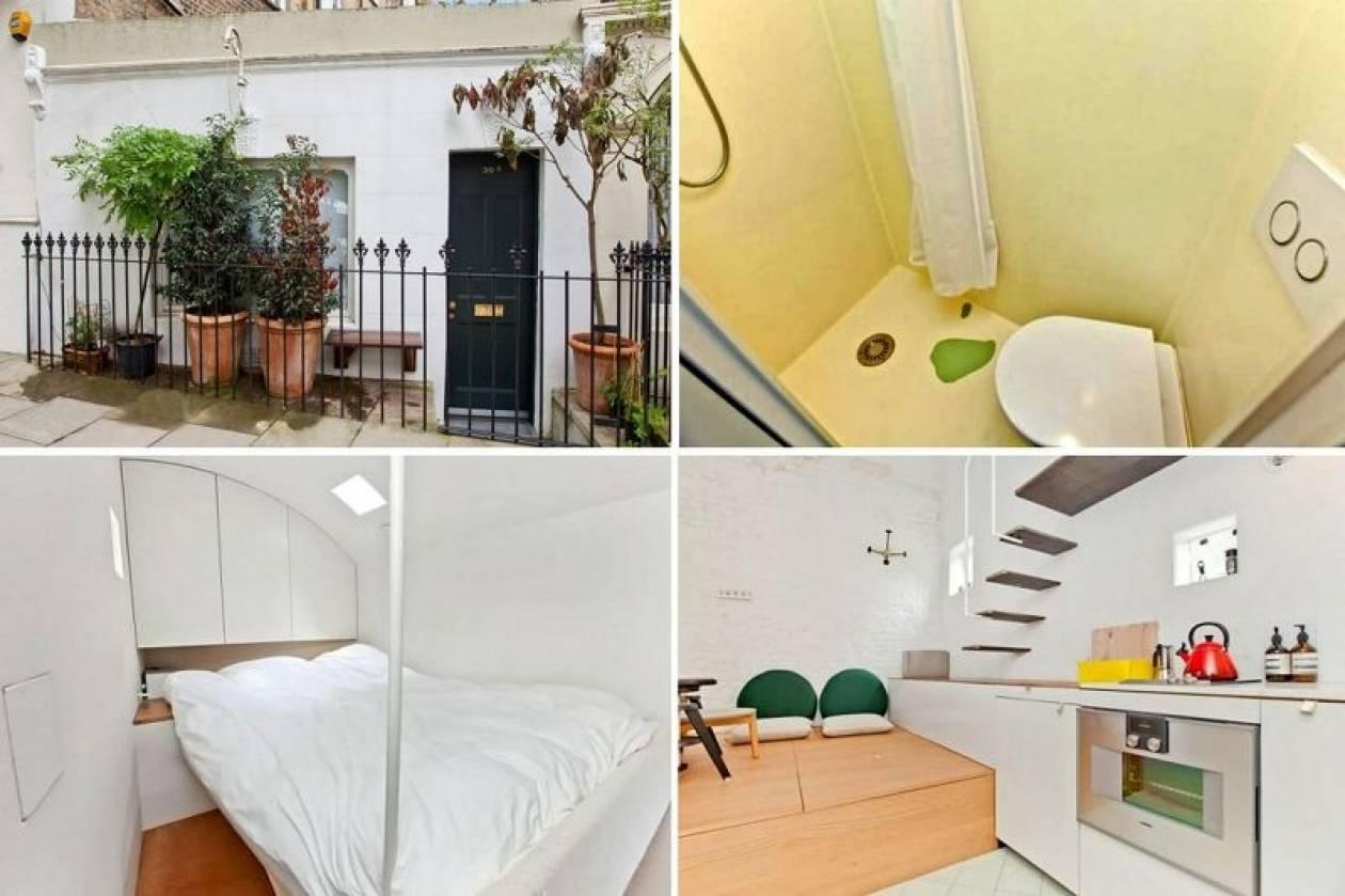 Λονδίνο: Σπίτι… μινιατούρα «έπιασε» τιμή ρεκόρ (vid+pics)
